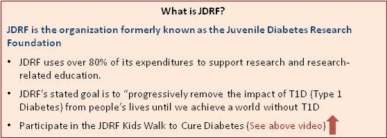 juvenile diabetes association