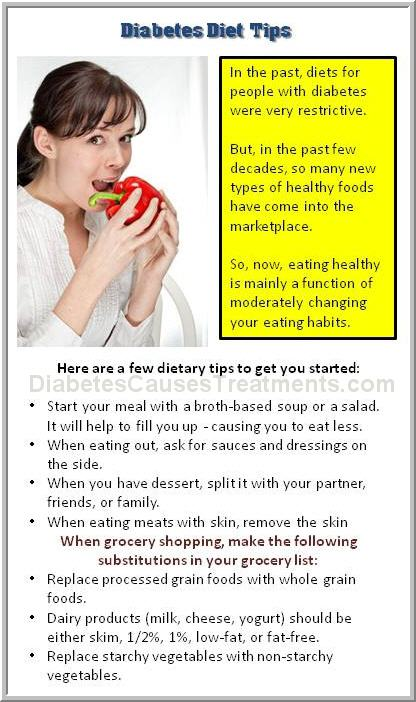 diabetes diet information