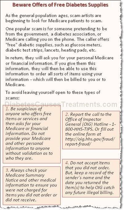 free diabetes supplies